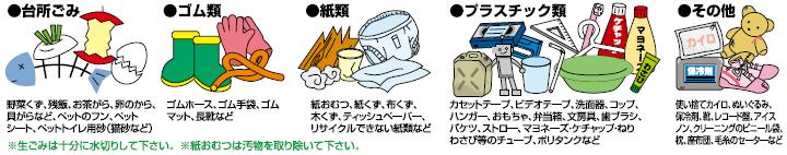 ゴミ カイロ 燃える